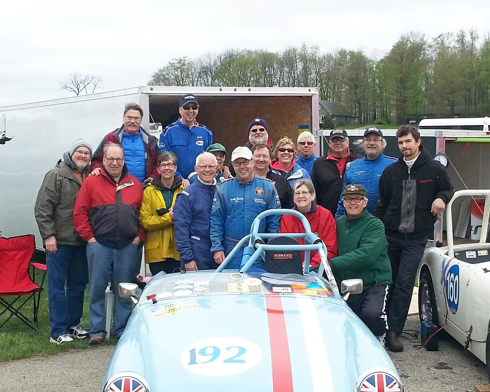 MN racers at GingerMan