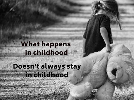 It's never too late to have a happy childhood