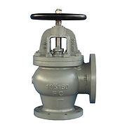 cast-iron-angle-type-globe-valve-flanged