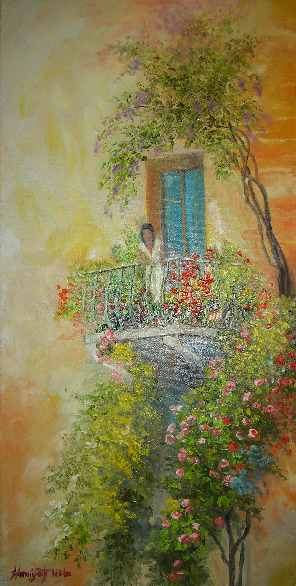 Ressam Hamiyet Uslu