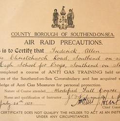 Southend Anti Gas Training Certificate.j