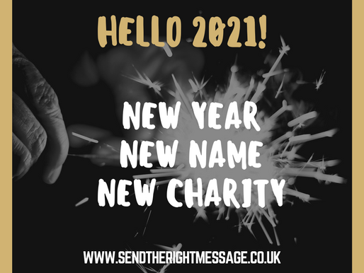 Welcome to our first newsletter under our new name of SEND the Right message.