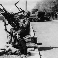Anti Aircraft Gun on Southend Seafront -