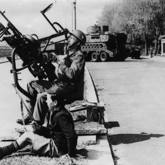 Anti Aircraft Gun on Southend Seafront -