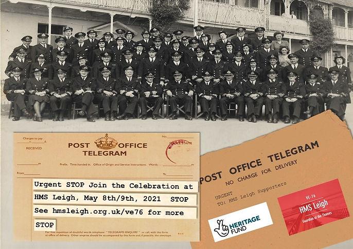 HMS Leigh Event invite