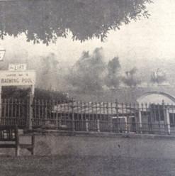 Bombs drop into the Thames - Southend Mu