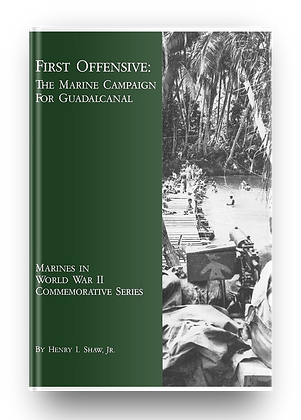 THE MARINE CAMPAIGN FOR GUADALCANAL (E-Book)