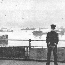 Wartime Convoy Assembly from HMS Leigh.j