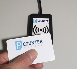 Pcounter Swipe and Card Readers for Touch-free printing