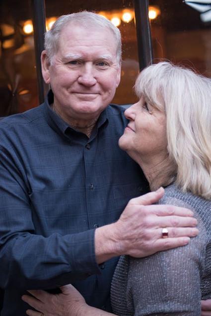 Wife Looks Lovingly at Husband
