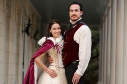 Husband & Wife Steampunk Wedding Attire