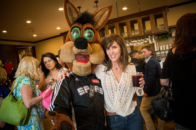 Spurs Coyote at Local Event