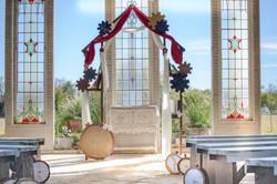 Steampunk Wedding Altar