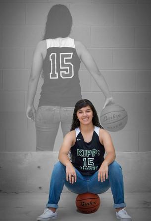 HS B-ball player