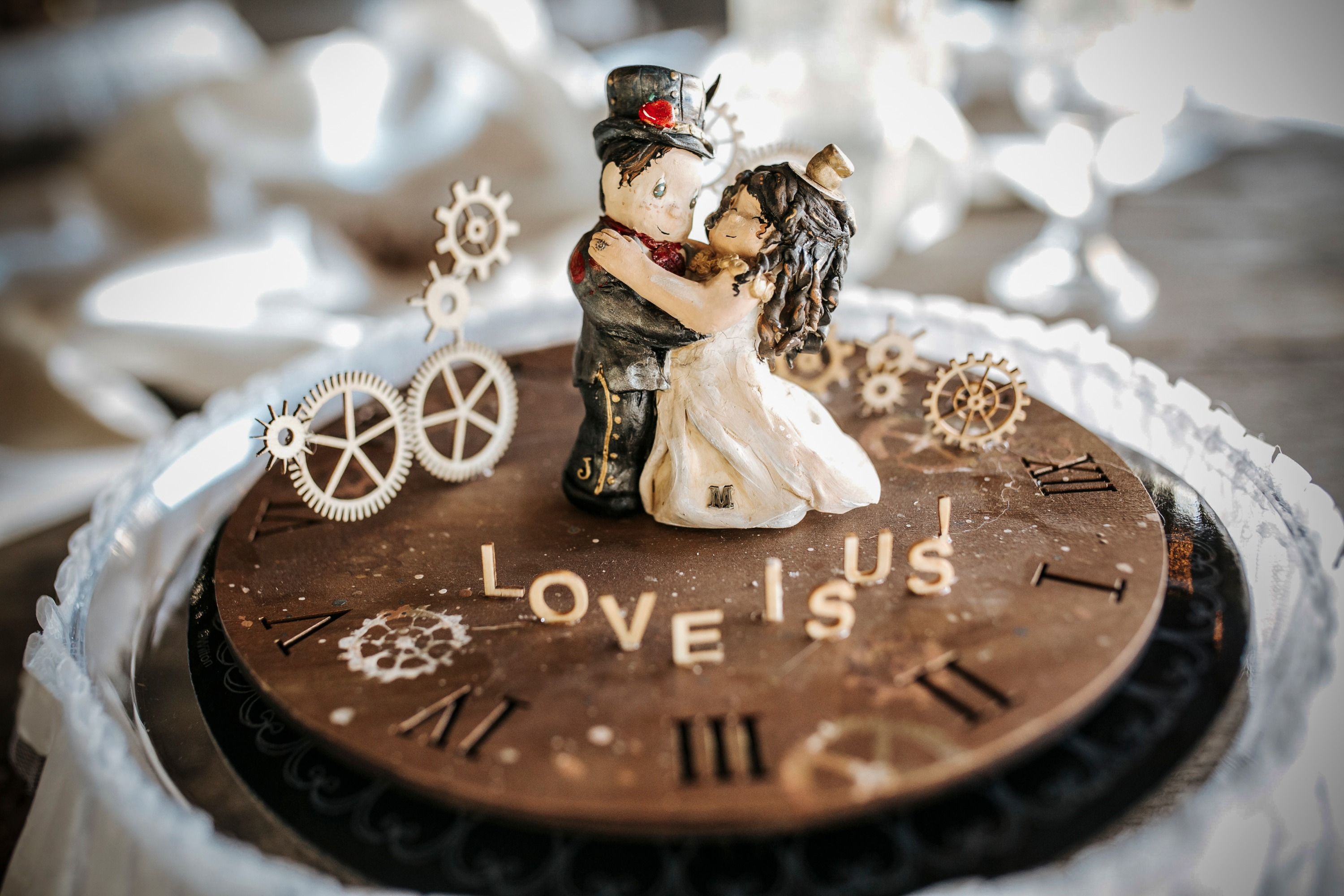Hand-made Cake Topper