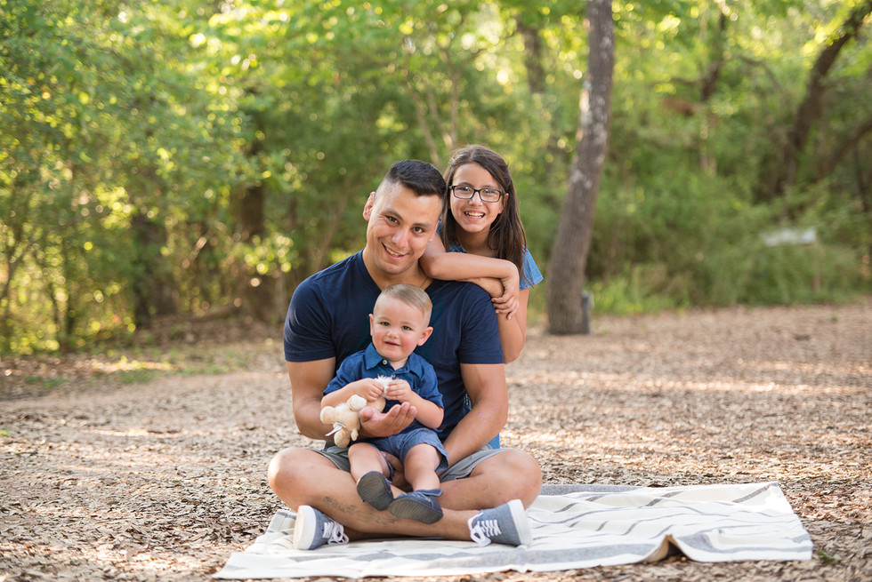 Daddy and me park picnic