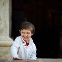 Joyous young boy