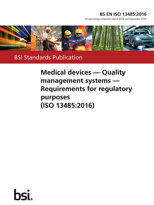 BS EN ISO 13485:2016