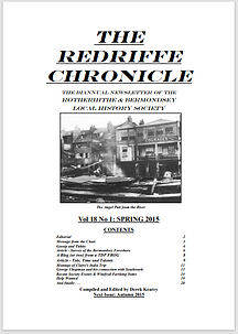 Redriffe Chronicle Vol 18 No 1 Spring 20
