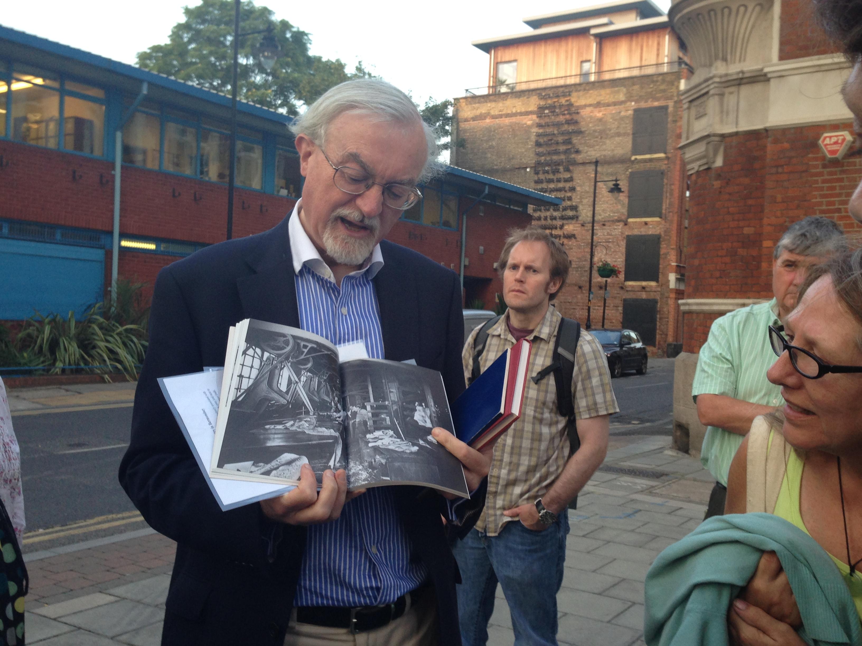 Historian Stephen Humphrey