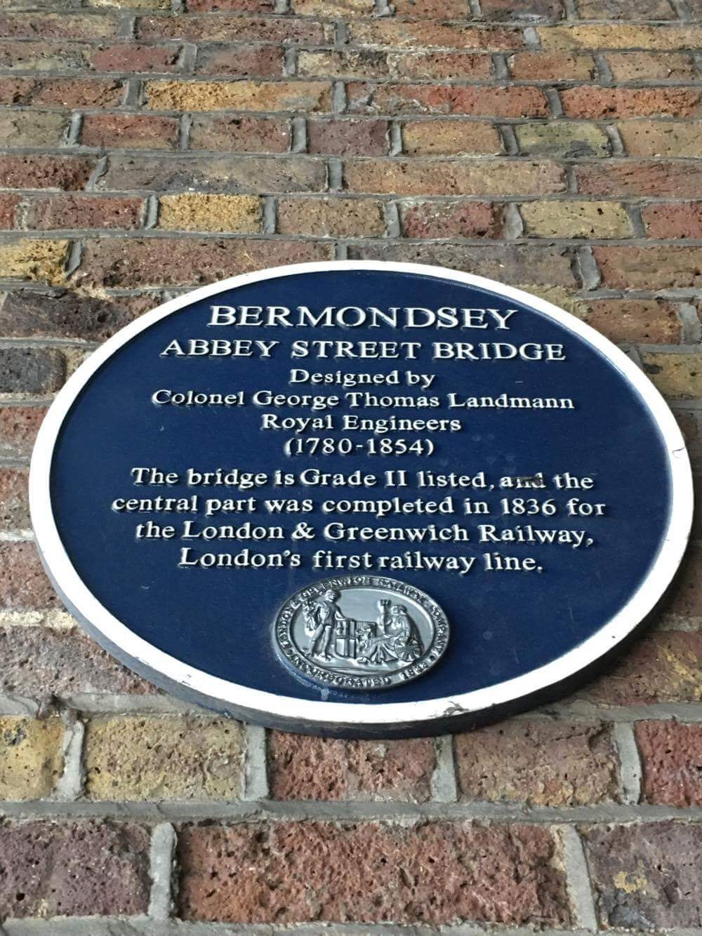 Plaque in Abbey Street