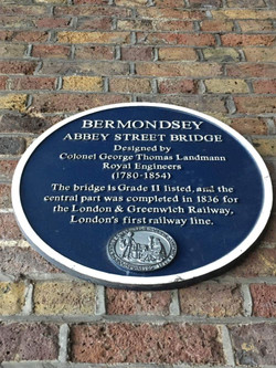 Plaque in Abbey Street