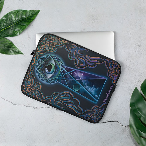 """The Eye That Sees"" Laptop Sleeve"
