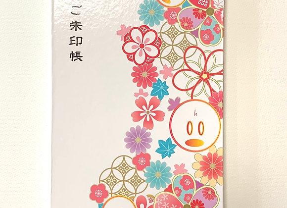 2Lサイズ 大判ご朱印帳【花柄】