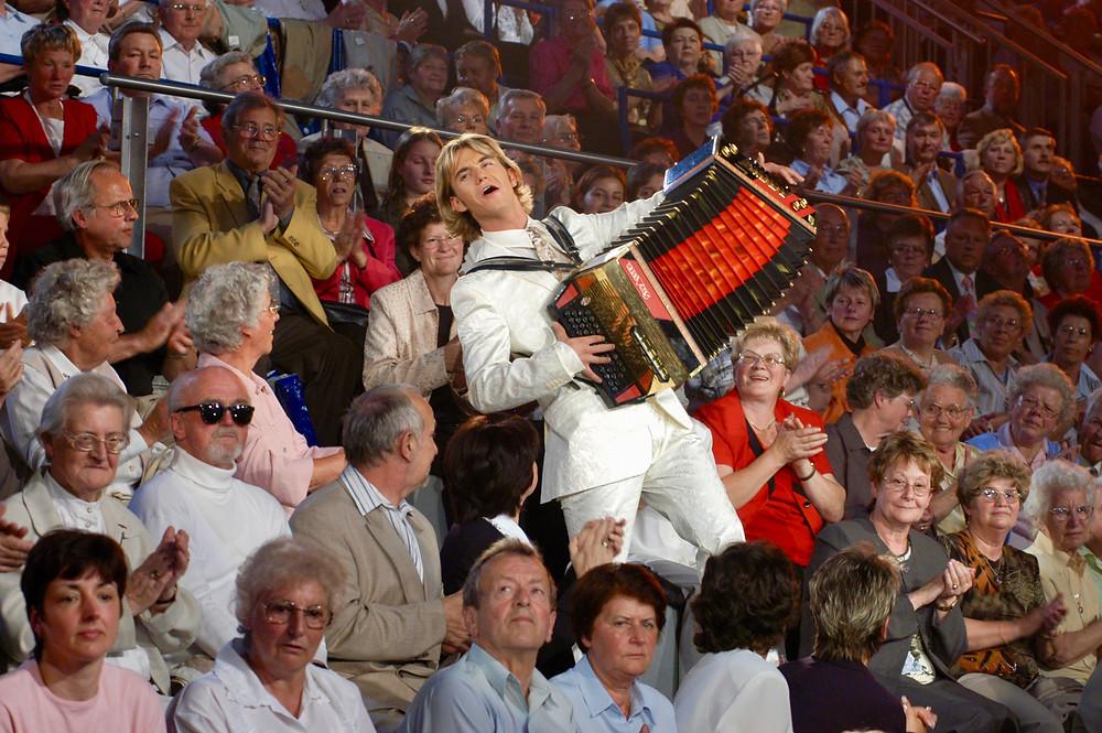 2004 der erste Feste-Auftritt von Florian