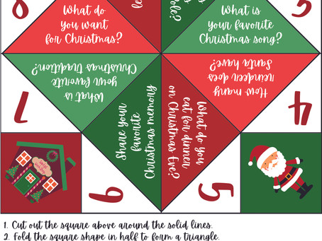 Tres recursos navideños gratuitos en inglés para niños