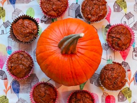 Receta para cocinar con niños: Pumpkin Muffins