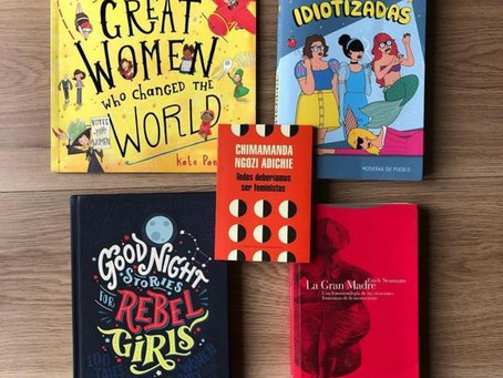 6 libros en el Día de la Mujer 📚👩🦰