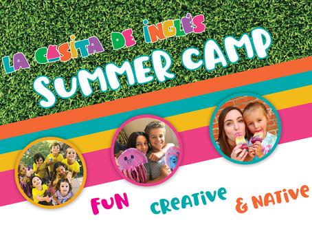 Campamentos de verano en inglés 2020