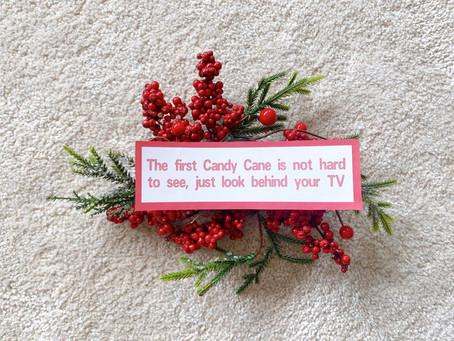 Búsqueda del tesoro de Navidad para niños