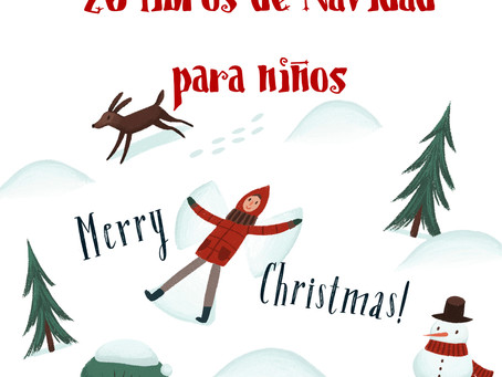20 Libros de Navidad en inglés para niños