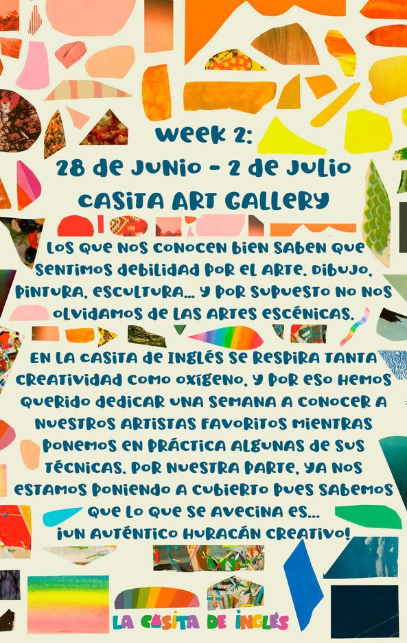 Week 2: Casita Art Gallery