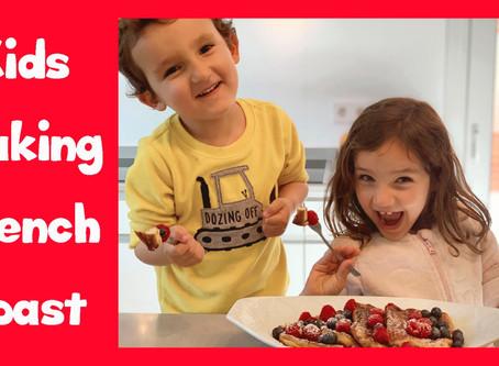 ▷ Aprende inglés cocinando recetas fáciles para niños: French Toast