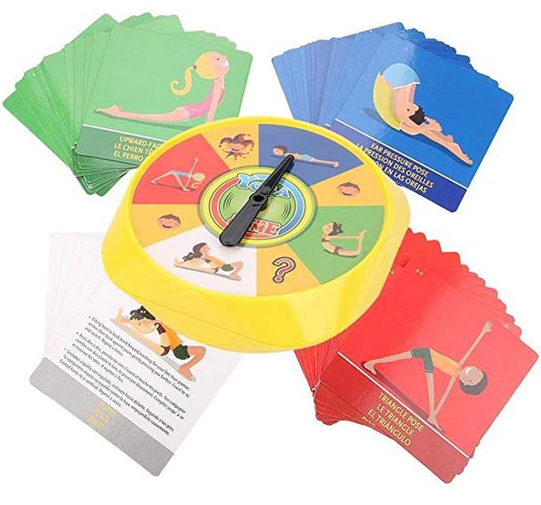 juego de yoga para niños