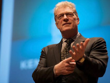 """""""La importancia del arte y la creatividad en la educación"""" por Ken Robinson"""