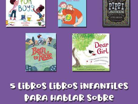 5 libros infantiles para hablar sobre feminismo en inglés