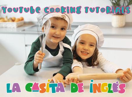 Aprender a cocinar para niños: Y también aprenderán inglés cocinando