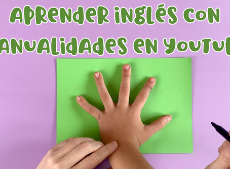 ▷ Aprender inglés con manualidades fáciles para niños