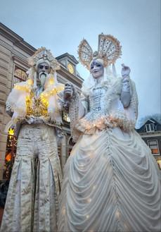 LevendTheater   Act Winterkoning en -koningin