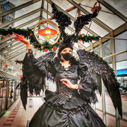 LevendTheater   Act Zwarte Vleugels