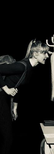 Carol in Oleanna (D. Mamet)