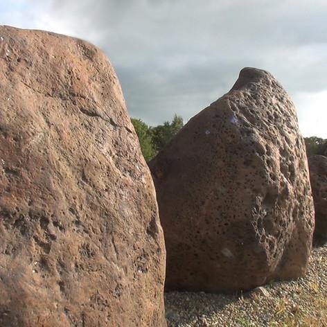 Лабиринт и аллея мегалитов Вастувера