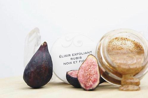 Exfoliant Élixir Rubis Noix et Figue | A Pedra Cosmétiques