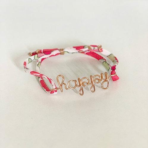 Bracelet HAPPY Liberty   Mes Précieux