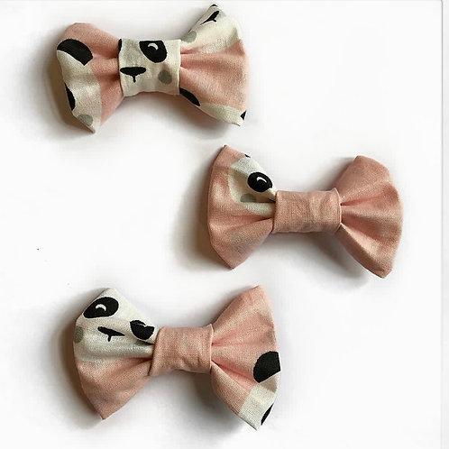 Barrette à pince Panda Rose | ChiaraDiLuna