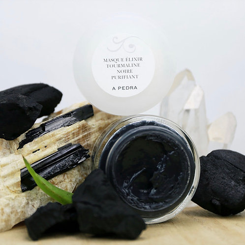 Masque Élixir Tourmaline Noire Purifiant | A Pedra Cosmétiqu